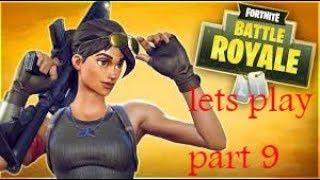 Fortnite battle royal (Part 9) really easy win!!!