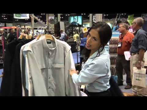 New Shimano Apparel With Rhoda Shaver ICAST 2012