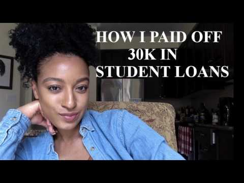 How I Paid Off 30K In Student Loans in 1.5 Years