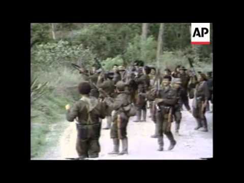 COLUMBIA: REBELS CLAIM CONTROL OF CHOACHI VILLAGE