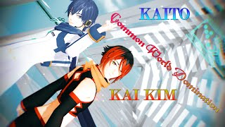 [MMD]KAITO & UTAU KAI KIM - Common World Domination