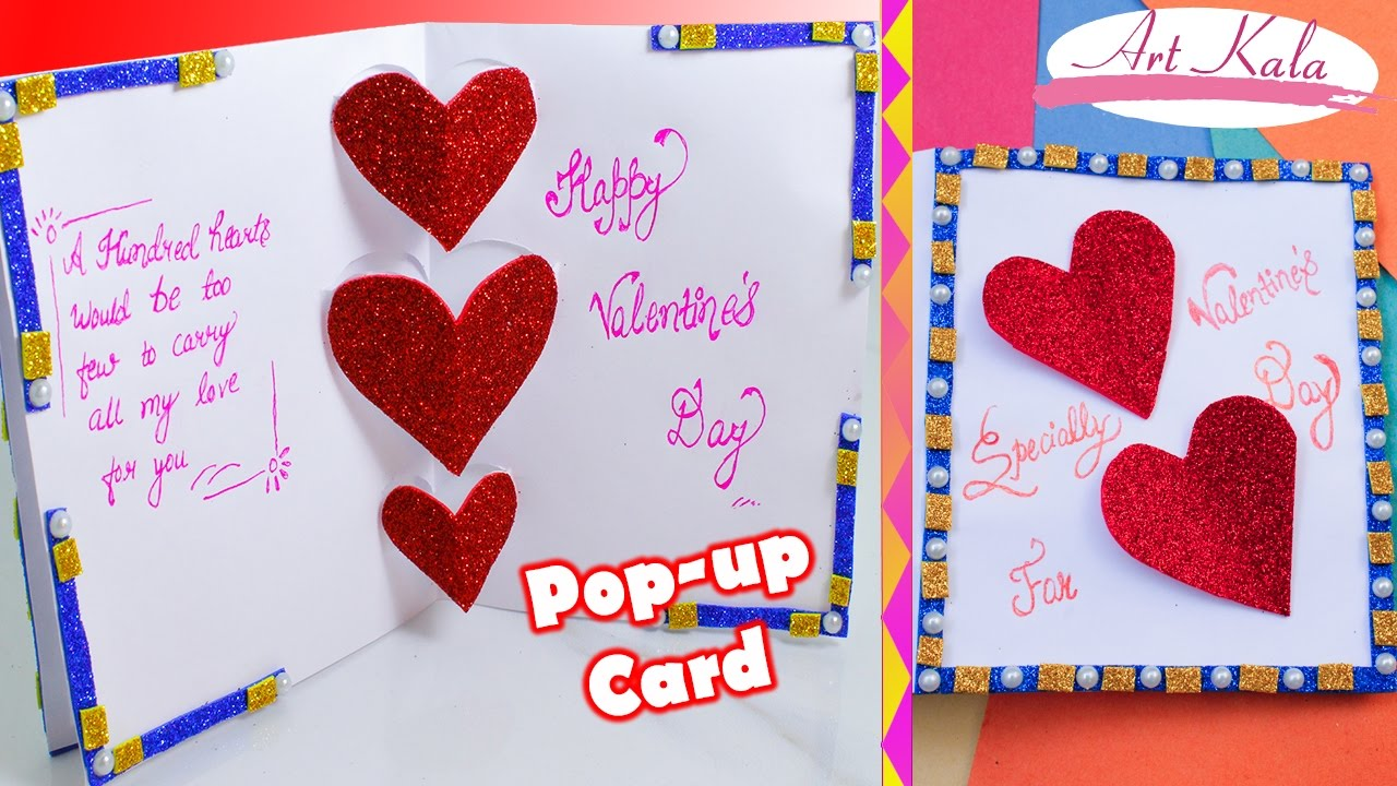 Diy 3d valentine day pop up card very easy how to make diy 3d valentine day pop up card very easy how to make artkala 2017 kristyandbryce Choice Image