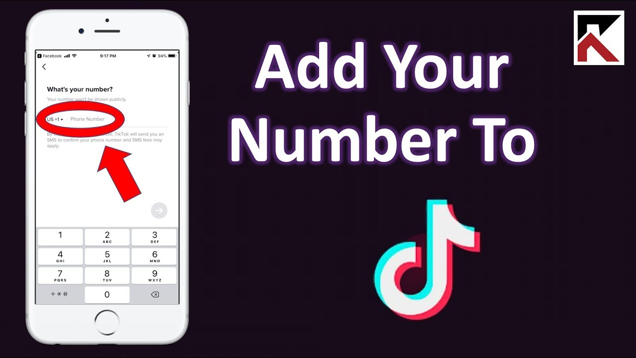 How To Add Your Phone Number To TikTok