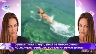 Hülya Avşar Muhteşem Deniz Şovlarına Devam Ediyor