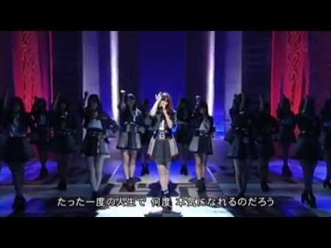 「シュートサイン」 AKB48 [カラオケメロ有,オフボーカル karaoke](歌詞付きフル)