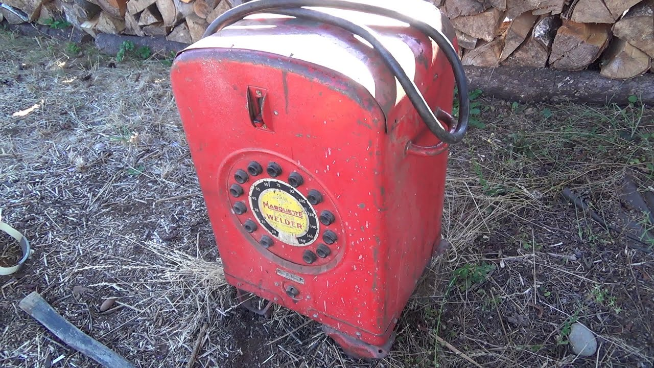 Dumbbells For Sale >> Garage Sale Finds - Saw Blades and an Old Arc Welder - YouTube