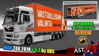 "[""ETS2"", ""Euro Truck Simulator 2"", ""truck mod"", ""MAN TGX 2010 v5.2"", ""by XBS""]"