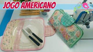 Jogo Americano ou Kit Higiene – Costura Fácil