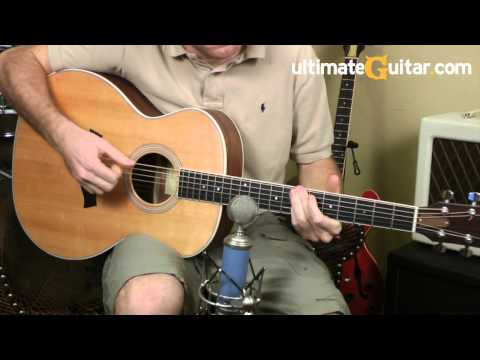 Taylor GA3 Acoustic Guitar Demo