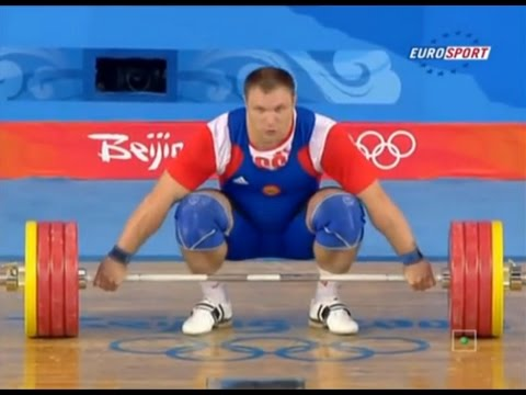 Олимпийские игры 2008. Мужчины в.к. св. 105 кг.