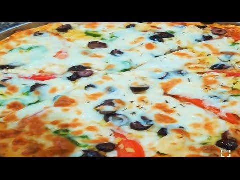 صورة  طريقة عمل البيتزا أفضل طريقة لعمل البيتزا / احسن من بتاع المحلات❤✌😊 #Rehab_Kitchen طريقة عمل البيتزا من يوتيوب