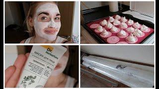 Готовим Безе Купили обои в детскую Покрасила брови Белорусская маска для лица