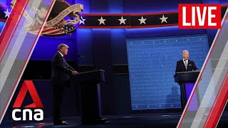 US election 2020: The first presidential debate between Donald Trump and Joe Biden