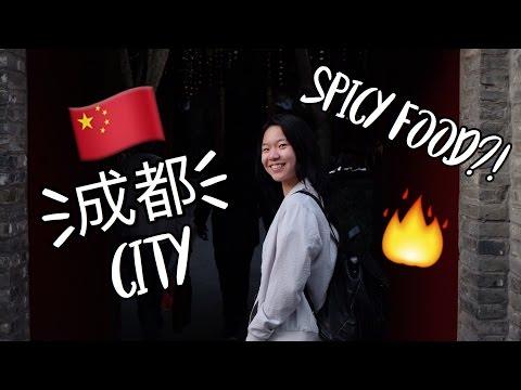 ChengDu City and Spicy Food | Kyla Allyn | Vlog 1