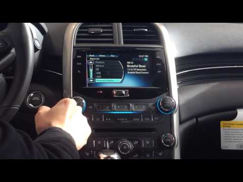 How to Play Music via Bluetooth on Chevrolet MyLink Radio