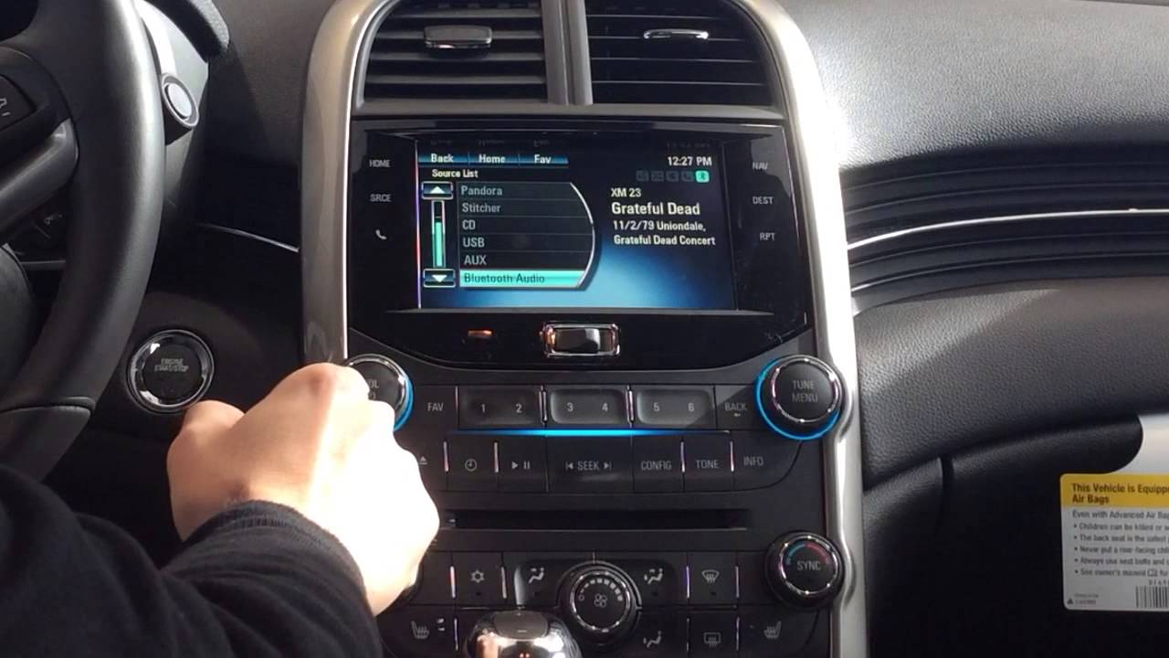 Weber Chevrolet Columbia >> How to Play Music via Bluetooth on Chevrolet MyLink Radio ...