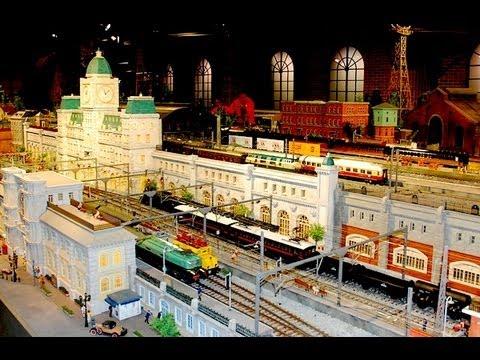 原鉄道模型博物館 World's largest one gauge model railway Hara Model Railway Museum 一番ゲージで世界最大ジオラマ 原鉄道模型博物館