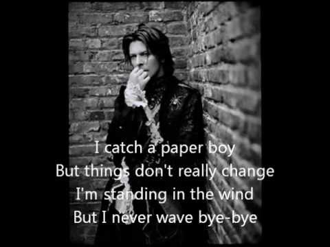 David Bowie - Modern Love poster