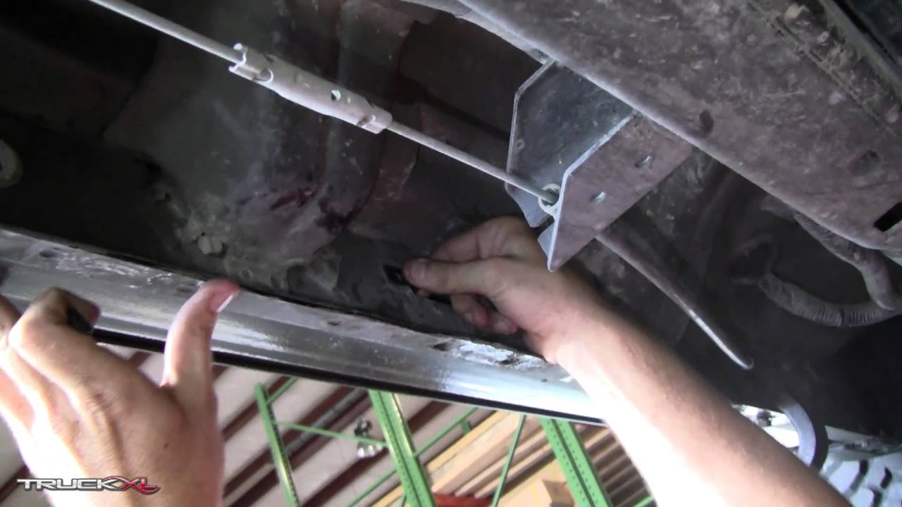 Bracket Kit 3048 Installation - Running Boards and Nerf Bars - YouTube