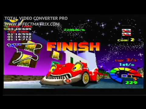 Motor toon Grand prix 2 - Playstation 1 - Présentation & Longplay  - live gamer portable Avermedia