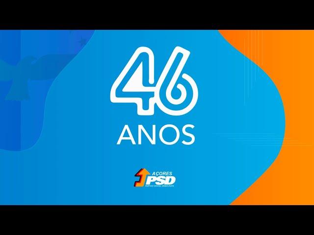 46º Aniversário do PSD/Açores: Mensagens