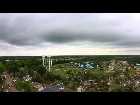 Van, Texas - Drone footage of Tornado Aftermath