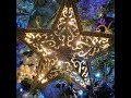 Lighted Star Ornament or Tree Topper with Dollar Tree Supplies