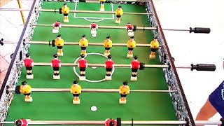 Calcio Balilla Table Football Game for kids - Playing Soccer | Happy Toys Channel