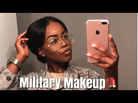 GRWM | MILITARY STYLE MAKEUP | USAF