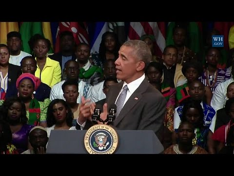 President Obama Participates in a YALI Town Hall