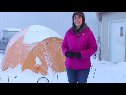 Arctic Oven Igloo Tent - Cold Weather Testing
