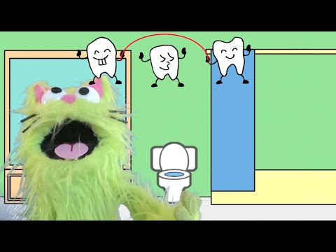 Brush My Teeth Song  + Charlie & Poochie Song Compilation