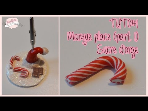 Tuto 1 marque place part 1 sucre d 39 orge misss v 02 youtube - Soliflore marque place ...