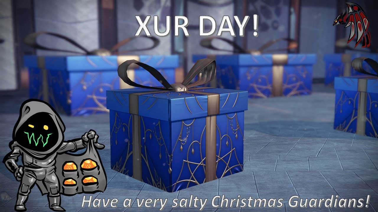 Xur Day, A Very Salty Christmas - YouTube