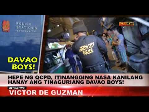 QCPD Chief, tinangging nasa hanay nila ang 'Davao Boys'