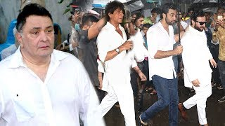 Bollywood Celebs Paying Respect To Shashi Kapoor Full Video HD-Shahrukh,Amitabh,Ranbir,Rishi,Sanjay