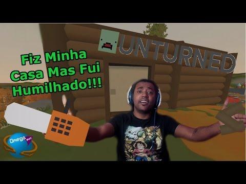 Fiz Minha Casa Mas Fui Humilhado!!! [Unturned] Omega Play