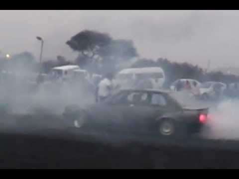 Bmw 325i E30 boxshapes spinning and drifting in Rustenburg