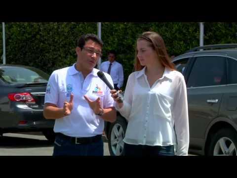 Entrevista con medios de comunicación en Perú Juegos Bolivarianos 2017