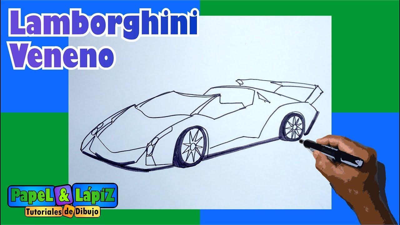 Imagenes De Un Lamborghini: Imagenes De Lamborghini Veneno Para Dibujar