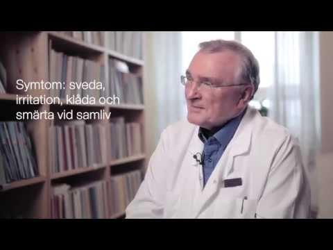 Torra slemhinnor i underlivet- en utbildningsfilm med Bo von Schoultz, professor emeritus