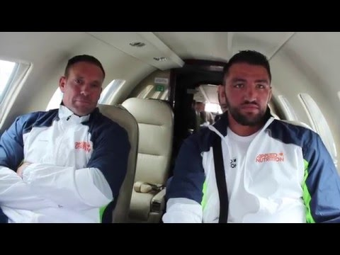 JET SETTING FURY LIFESTYLE - IFL TV GRANTED EXCLUSIVE ACCESS ON TEAM FURY'S PRIVATE JET