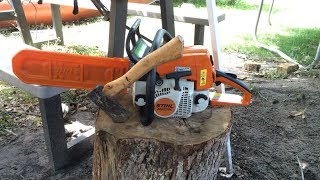 How To Troubleshoot and Tune Up a STIHL Chainsaw clip 1