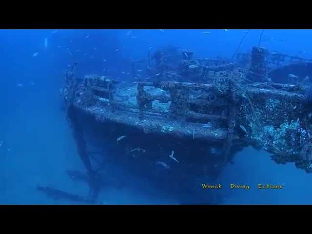 Wreck Diving Echizen(越前の沈船)