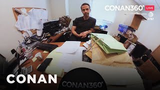 CONAN360° LIVE Highlight:​ Jordan Schlansky On Sparkling Water