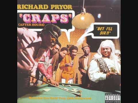 Richard Pryor - Cops / The Line Up || Craps