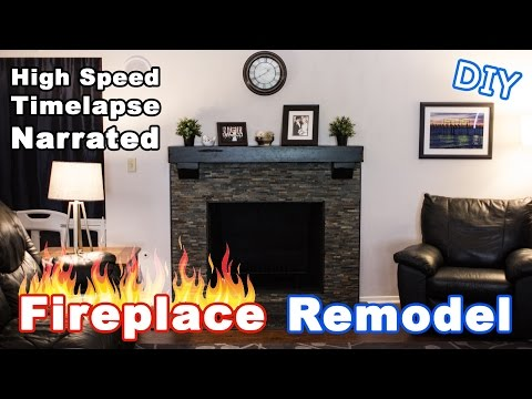 Fireplace Re Timelapse Narrated