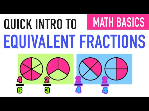✪ Comparing Equivalent Fractions | 4th Grade Fractions
