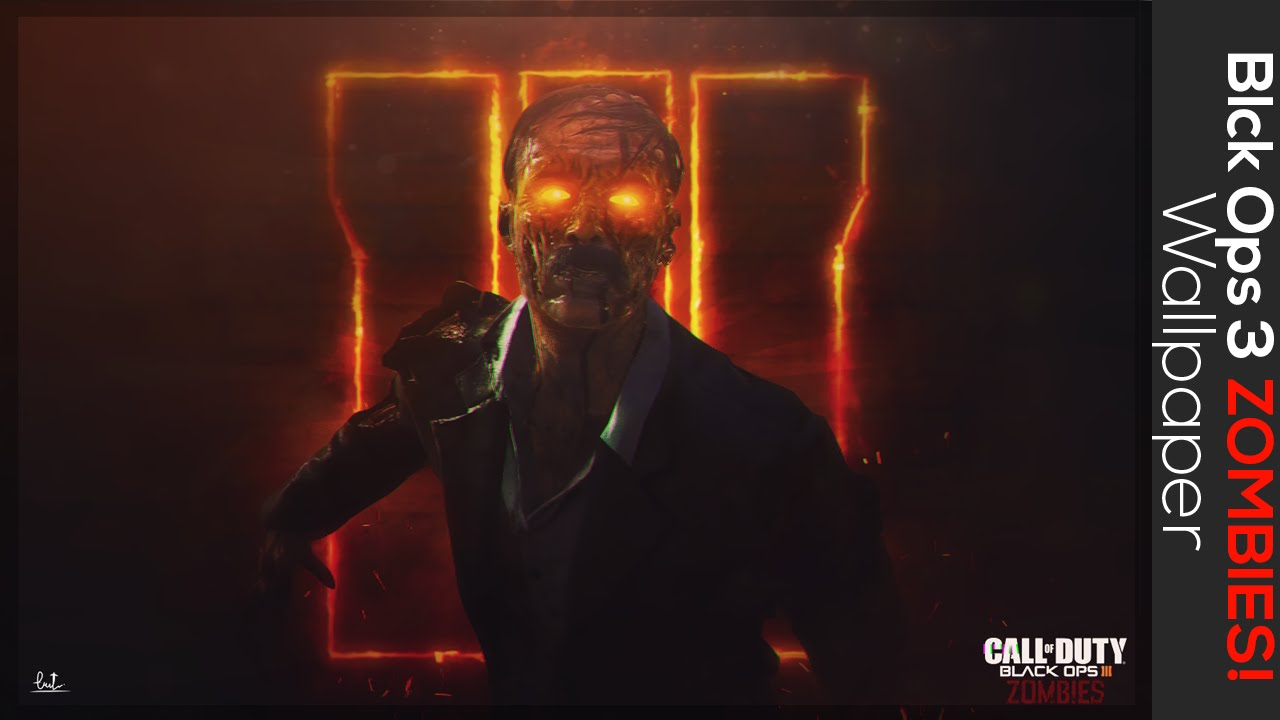 Black Ops Iii Zombies Wallpaper Speed Art Youtube