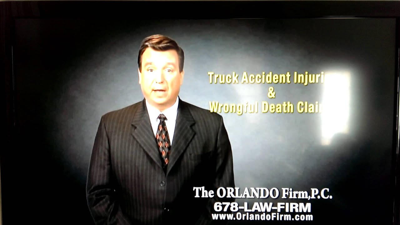 I Actually Can't Believe This Lawyer Put This Ad On TV